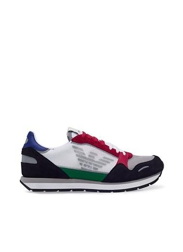 Emporio Armani  Casual Ayakkabı Erkek Ayakkabı X4X537 Xm678 N640 Lacivert